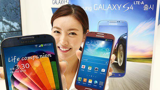 Das aktuelle Flaggschiff Samsung Galaxy S4 LTE-A