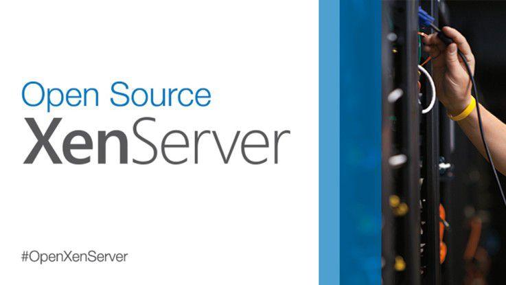 Citrix bietet XenServer nun als Open-Source und kommerzielle Version an.