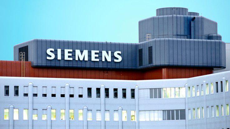 Siemens-Gebäude im Münchner Stadtteil Neuperlach