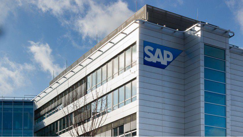 Konzernzentrale der SAP AG in Walldorf bei Heidelberg