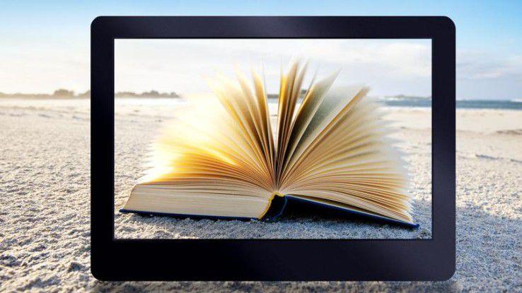 E-Book oder Papier für die Strandlektüre?