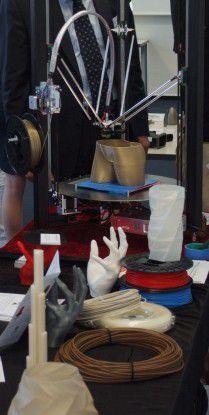 Egal ob Torso, Hände etc., 3D-Drucker eröffnen neuen Gestaltungsspielräume.