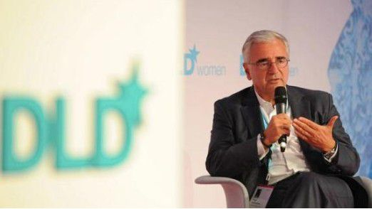 Paul Achleitner, Aufsichtsratsvorsitzender der Deutschen Bank, lobt Ritchotte.