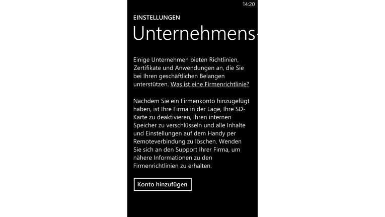 Windows Phone 8 und Business-Tauglichkeit? Laut Gartner immerhin akzeptabel!