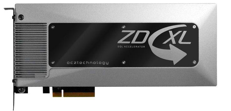 Der ZD-XL SQL Accelerator von OCZ verpasst Datenbanken mit Microsofts SQL Server 2008 und 2012 den Turbo.