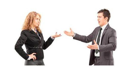 Streit um Schadensersatz: in höheren Positionen kommt das vor.