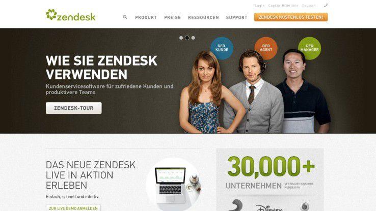 Zendesk gehört zu den bekanntesten Angeboten, wenn es um Kunden-Management für KMUs geht.