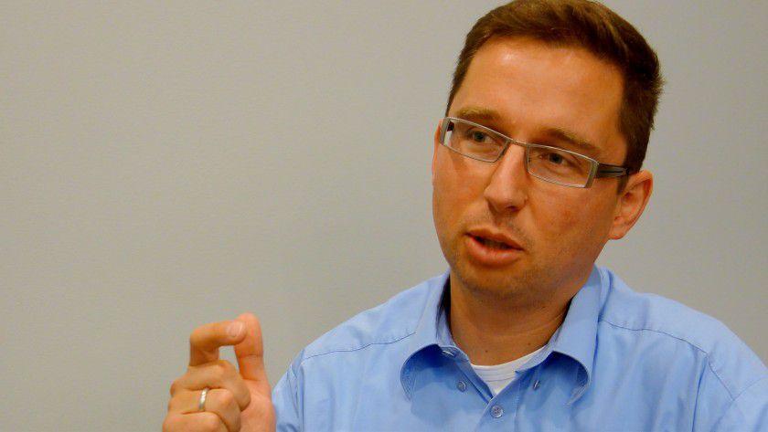 Jochen Lautner: Der Cloud Networking Specialist bei Cisco vertritt das Pro-Cloud-Lager.