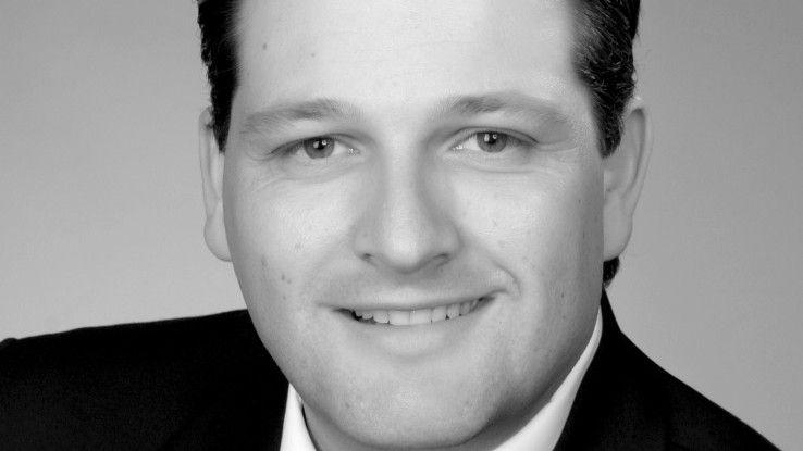 """Gilbert Riegel, IT-Leiter des TK-Herstellers Gigaset:""""Jahresgesprächezeigen, wo der Mitarbeiter tatsächlich steht."""""""