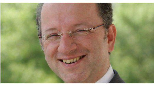 """Christoph Böhm, Vodafone, ist einer der beiden Gewinner des """"Operational Excellence Award 2013""""."""