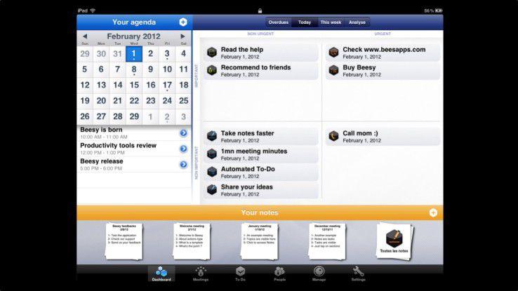 Das Interface-Design macht einen recht guten Eindruck und integriert zahlreiche Features, ohne überladen zu wirken.