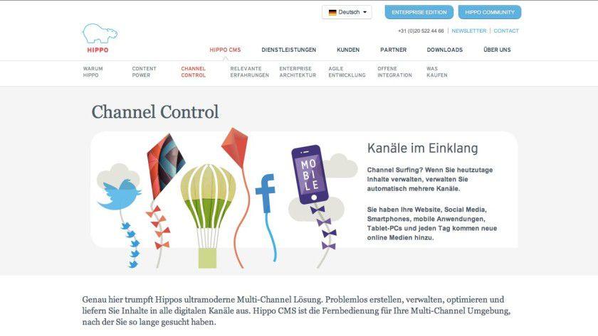 Hippo CMS ist ein quelloffenes Content-Management-System der Enterprise-Klasse, das auf Java basiert und in der Community-Edition kostenlos erhältlich ist.