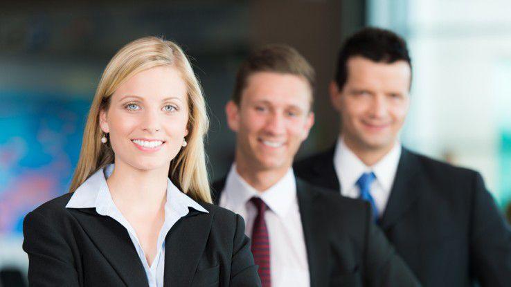 Weibliche Führungskräfte für IT-Positionen werden händeringend gesucht.