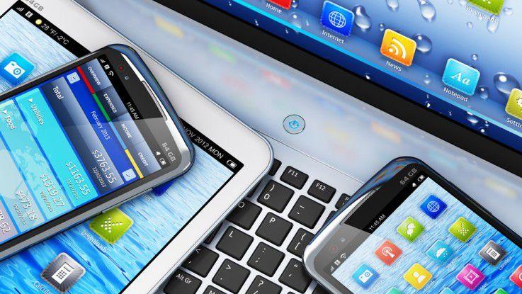 Mobile Endgeräte gewinnen in Unternehmen weiter an strategischer Bedeutung.