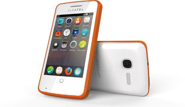 Läuft mit Firefox OS: Alcatel One Touch Fire
