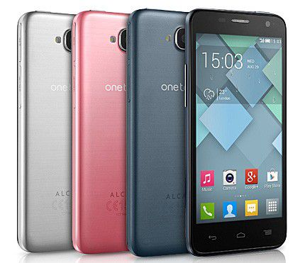 Buntes Einsteigermodell: Alcatel One Touch Idol Mini