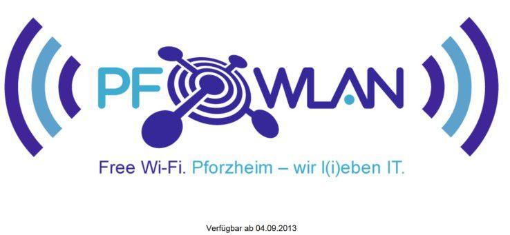 """In Eigeninitiative haben neun Firmen in Pforzheim ein """"Freies WLAN"""" aufgebaut."""