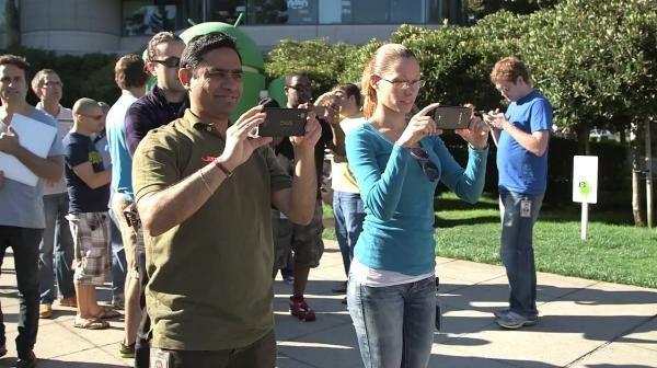 Teasert Google hier bereits das neue Nexus 5?