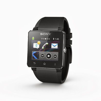 Auch mit Smartphones anderer Hersteller kompatibel: Sony Smartwatch 2
