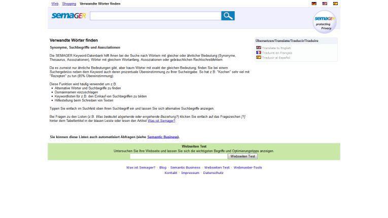 Semager Keyword Recherche Für Webshops Die Suche Nach Dem