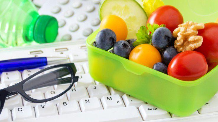 Gemüse und Obst kann man sich auch ins Büro liefern lassen.