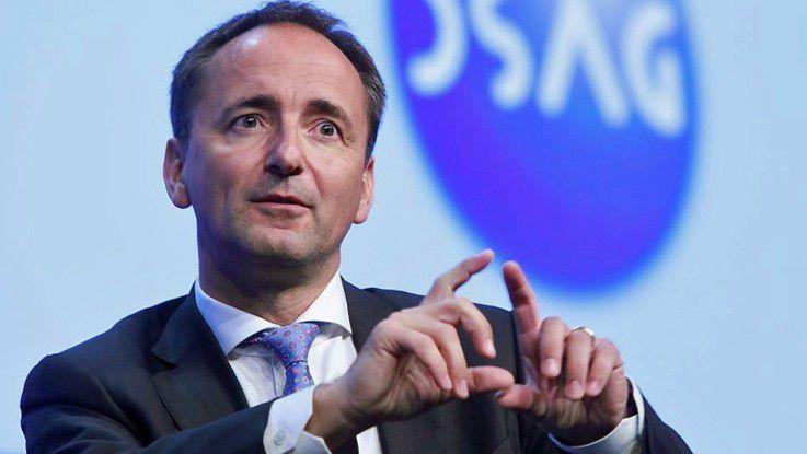 SAP-Co-CEO Jim Hagemann Snabe betonte, wie wichtig für SAP gute Beziehungen zu den deutschen Anwendern sind.