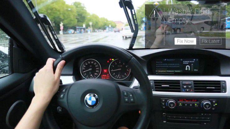 Obwohl die Nutzung von Google Glass auch im Straßenverkehr Vorteile brächte (z.B. interaktives PKW-Manual von Metaio), könnte es auch hierzulande eine Strafe geben.
