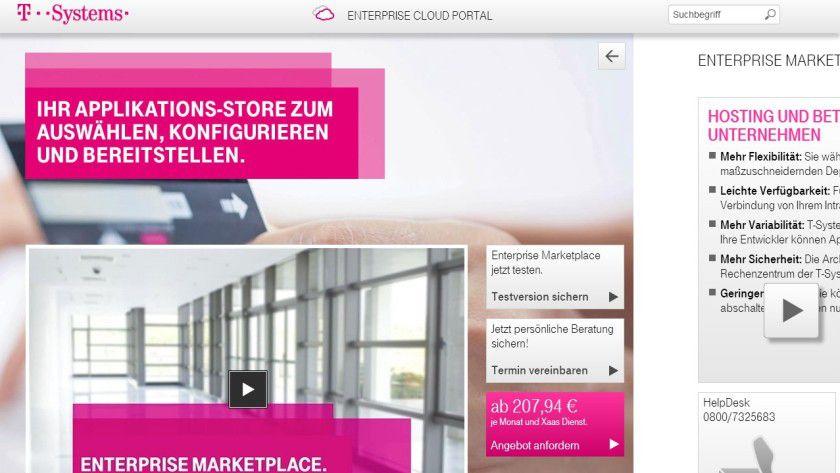 Der neue Enterprise Marketplace der Telekom ist live.