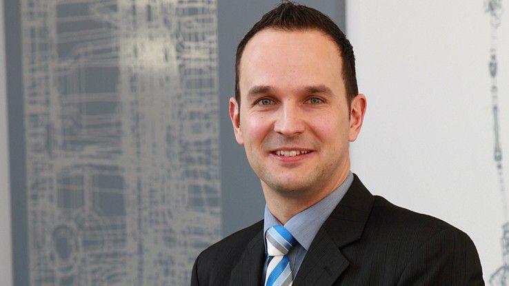 """Martin Frick, ZF Friedrichshafen: """"UnsereIT-Abteilung hat weltweit mehr als 1000 Mitarbeiter."""""""