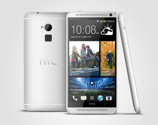 Ab Mitte Oktober für 599 Euro verfügbar: Das HTC One Max