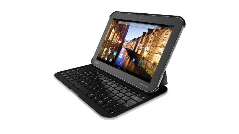 Das Android-Tablet Toshiba Excite Write beherrscht auch die TruNote Handschrifterkennung.