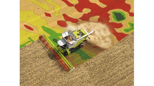 M2M-Szenarien mit Precision-Farming-Lösungen von Claas.