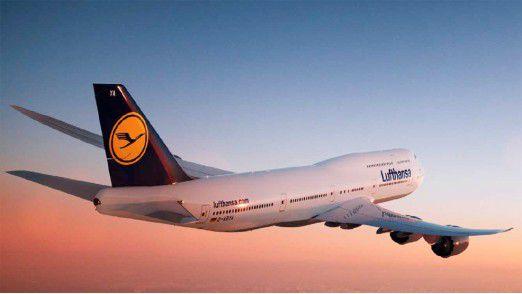Eine Daten-Panne führte zu Flugausfällen und Verspätungen bei der Lufthansa.
