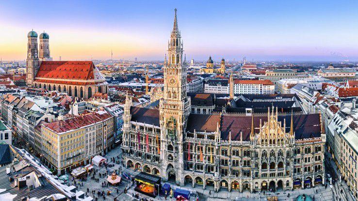 München war ein Wochenende ohne E-Mail - allerdings arbeitet da auch niemand in der Stadtverwaltung...