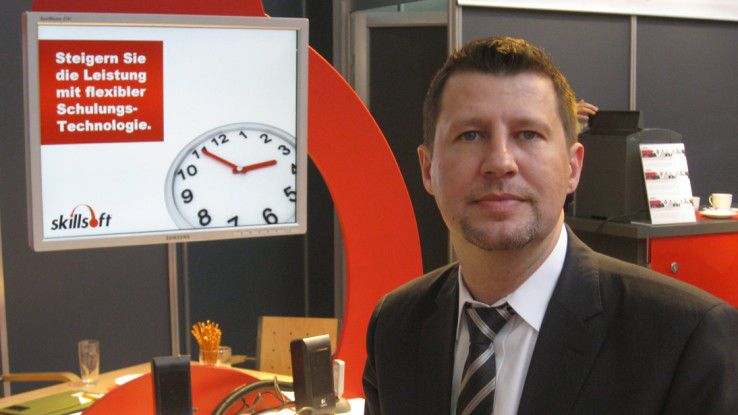 """Stefan Janssen, Skillsoft: """"Microlearning, also elektronische Kurse von zwei bis fünf Minuten liegen im Trend."""""""