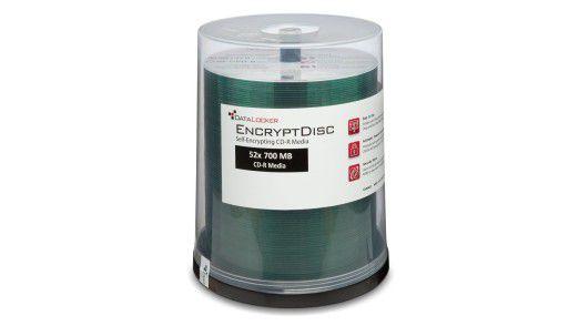 Bei DataLocker EncryptDisc handelt es sich um optische Speichermedien, die die Verschlüsselungslösung bereits in sich tragen.