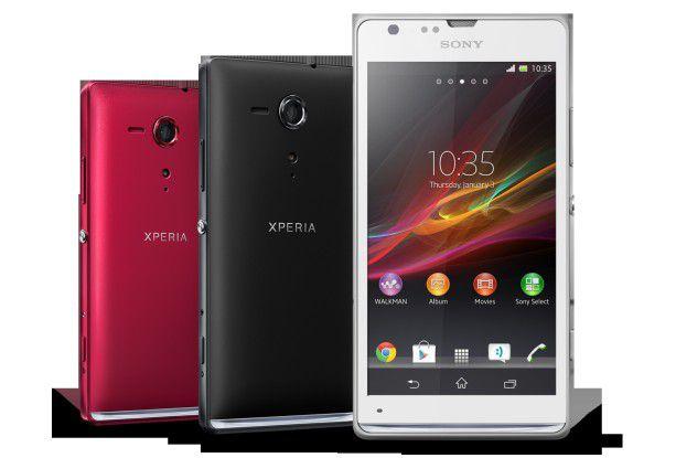 Das Sony Xperia SP gehört zu den Geräten, die nun ein Update auf Android 4.3 erhalten sollen.