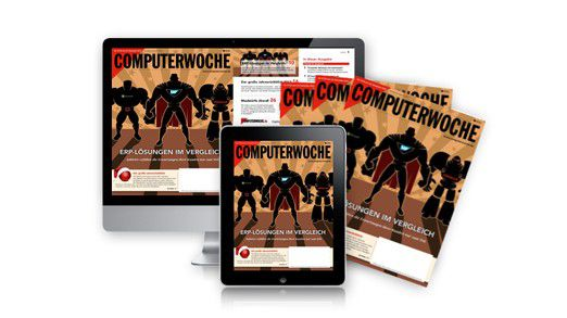 Ab sofort ist die neue COMPUTERWOCHE als Heft und als iPad-Ausgabe erhältlich.