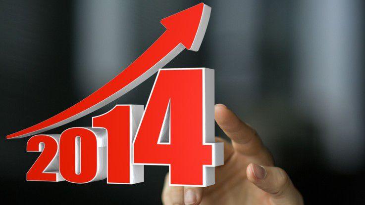 Was planen IT-Chefs für das Jahr 2014?