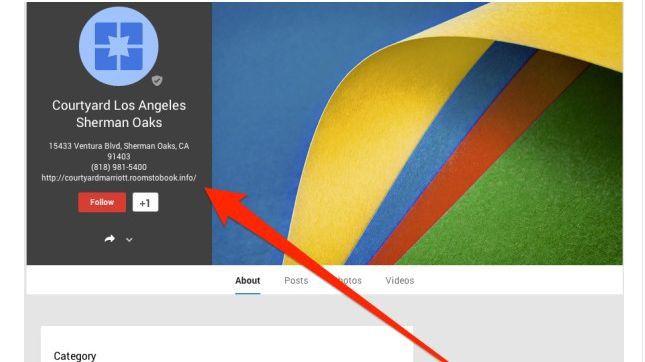 """Wie """"Search Engine Land"""" zeigt, wurden zahlreiche Links auf Hotelpräsenzen unter Google+ Local vorsätzlich verändert."""