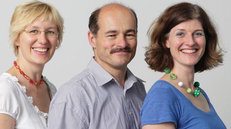 Die CW-Redakteure Alexandra Mesmer (li.), Hans Königes und Karen Funk schreiben über alle Themen rund um die IT-Karriere.