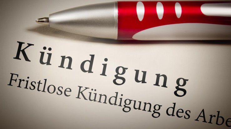 Arbeitsrecht Formfehler Bei Der Kündigung Sind Riskant