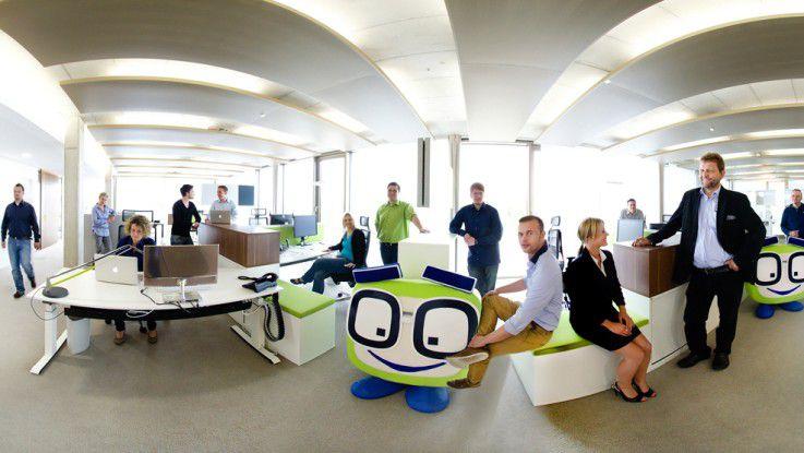 Jeder Secova-Mitarbeiter trägt seine Arbeitszeiten in einen Online-Kalender ein, damit die Kollegen wissen, ob er im Büro oder im Home office erreichbar ist.