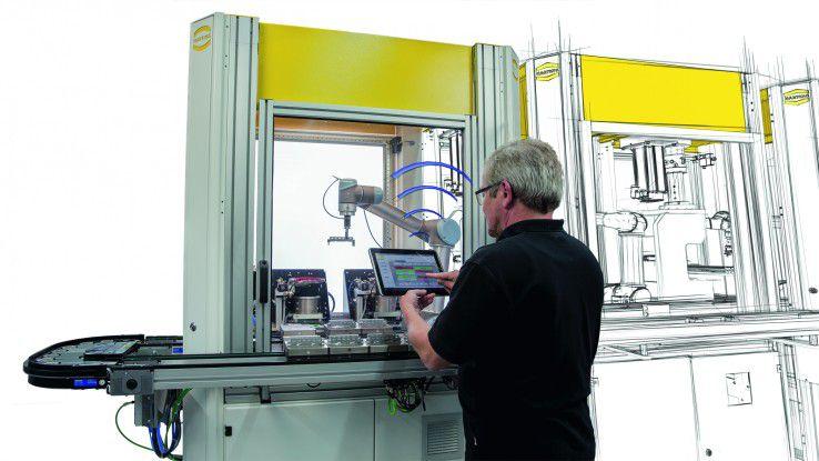 """Die Harting Technologiegruppe setzt sich im Verbundprojekt """"FlexiMon – Flexibles Montagekonzept"""" unter anderem mit Industrie 4.0 auseinander. Das Projekt ist Bestandteil des Spitzenclusters """"It's OWL"""", das Anbieter im Raum Ostwestfalen Lippe zusammenführt."""