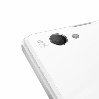 Das Z1 Compact nutzt die bereits vom Z1 bekannte 20,7-Megapixel-Kamera