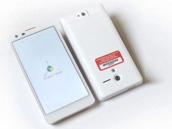 Projekt Tango: Smartphone mit 3D-Erkennung