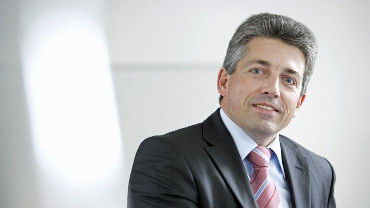 Christian Glanz ist im Vorstand der DVAG unter anderem für IT verantworltich.