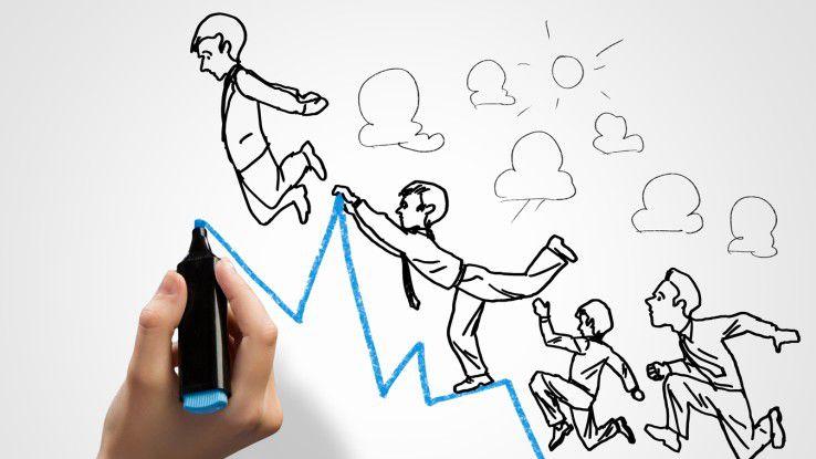 Es ist keine Seltenheit, dass am Anfang der Karriereleiter eine Tätigkeit als Werkstudent steht.