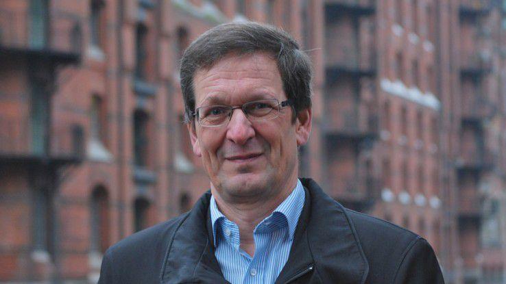 """Christian Bieler, Hamburg Port Authority: """"Auf Externe zurückzugreifen ist eine Möglichkeit, auf Schwankungen zu reagieren."""""""