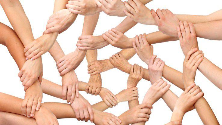 Dass sich die Mitarbeiter vernetzen sollen, steht außer Frage. Zentral ist, wie man sie gewinnt und befähigt.